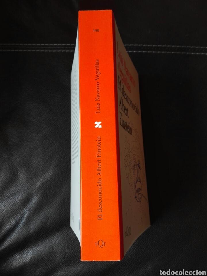 Libros: El desconocido Albert Einstein Luis Navarro. Libro nuevo. 1 edición. 2020 - Foto 3 - 198122433