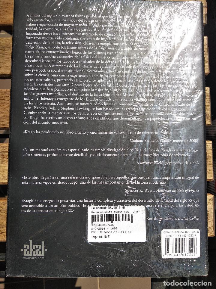 Libros: Generaciones cuánticas. Una historia de la física en el siglo XX. Helge Kragh - Foto 2 - 201202353
