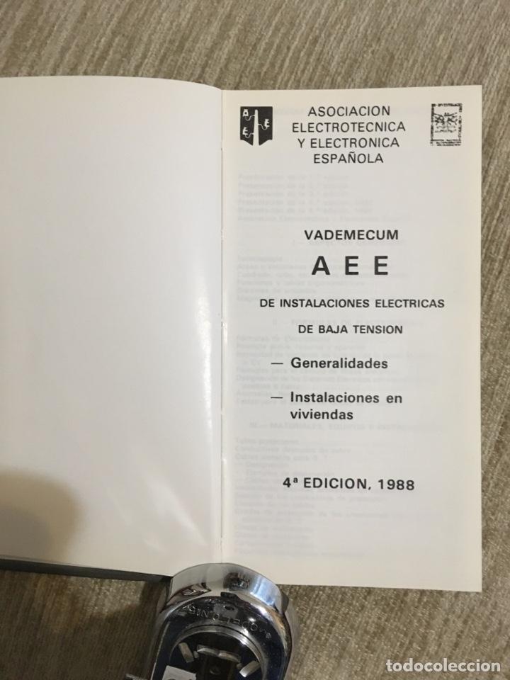 Libros: Fórmulas de electrotécnica vademécum a.e.e., mas de 218 paginas - Foto 2 - 201358860