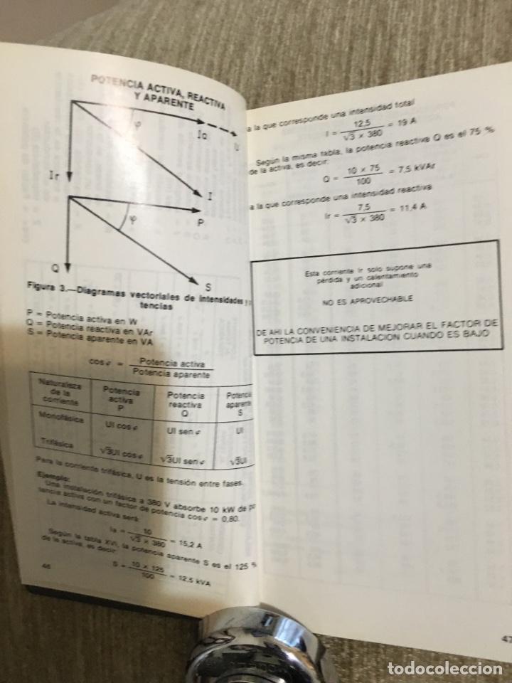 Libros: Fórmulas de electrotécnica vademécum a.e.e., mas de 218 paginas - Foto 4 - 201358860