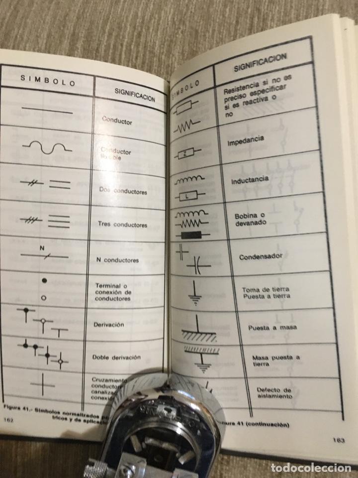 Libros: Fórmulas de electrotécnica vademécum a.e.e., mas de 218 paginas - Foto 7 - 201358860
