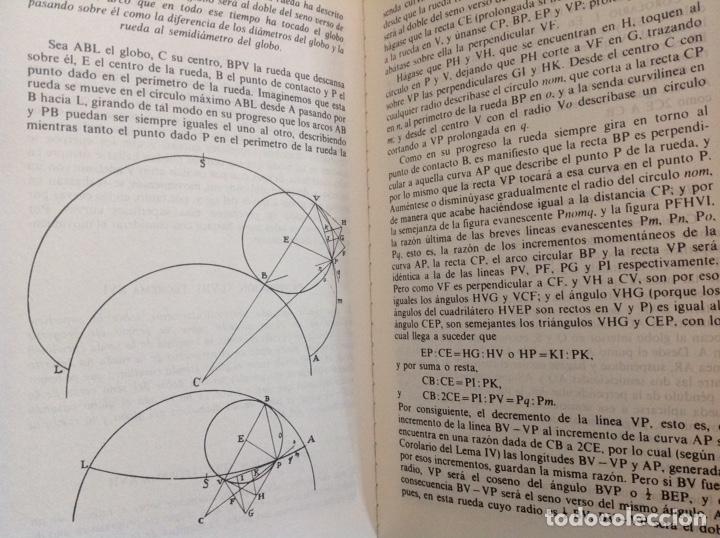 Libros: Principios matemáticos. Principia Mathematica. Isaac Newton. Ed. Altaya. 1993. Nuevo - Foto 3 - 202876770