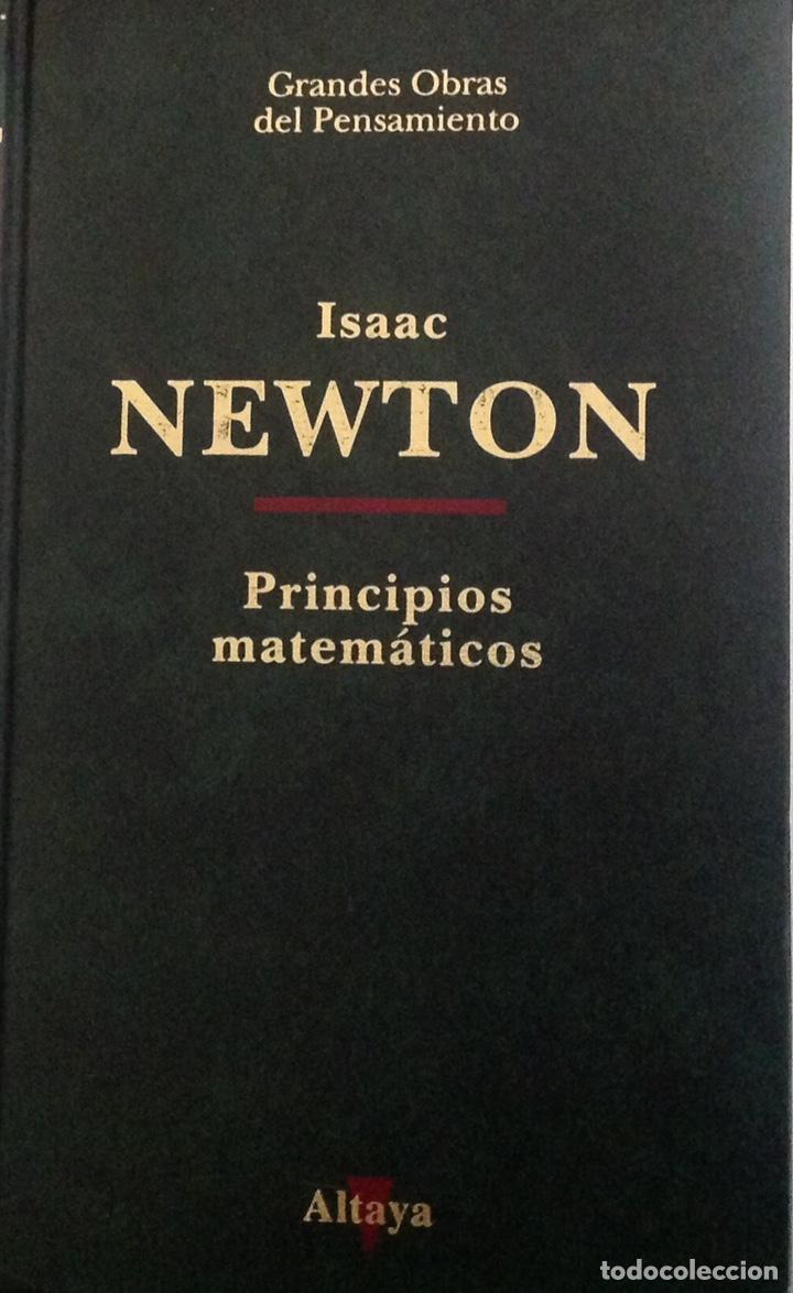 PRINCIPIOS MATEMÁTICOS. PRINCIPIA MATHEMATICA. ISAAC NEWTON. ED. ALTAYA. 1993. NUEVO (Libros Nuevos - Ciencias, Manuales y Oficios - Física, Química y Matemáticas)
