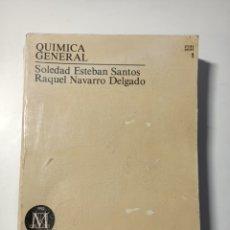 Libros: QUIMICA GENERAL TOMO 1. Lote 204080472