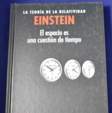 Libros: LA TEORIA DE LA RELATIVIDAD. EINSTEIN: EL ESPACIO ES UNA CUESTION DE TIEMPO - BLANCO LASERNA, DAVID. Lote 207388958