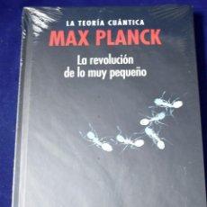 Libros: MAX PLANCK, LA TEORÍA CUÁNTICA :LA REVOLUCIÓN DE LO MUY PEQUEÑO - PÉREZ IZQUIERDO, ALBERTO TOMÁS. Lote 207388988