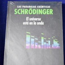 Libros: SCHRÖDINGER. LAS PARADOJAS CUÁNTICAS. EL UNIVERSO ESTÁ EN LA ONDA - BLANCO LASERNA, DAVID. Lote 207389002