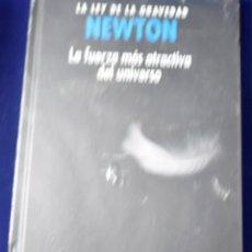 Libros: NEWTON, LA LEY DE LA GRAVEDAD: LA FUERZA MÁS ATRACTIVA DEL UNIVERSO - DURÁN GUARDERO, ANTONIO J.. Lote 207389022