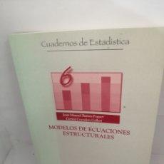 Libros: MODELOS DE ECUACIONES ESTRUCTURALES. Lote 207683937
