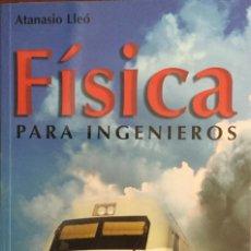 Libros: FÍSICA PARA INGENIEROS. MUNDI PRENSA.. Lote 210051567
