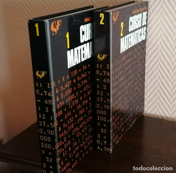 MATEMATICAS-CURSO DE ENSEÑANZA PROGRAMADA (2 LIBROS) (Libros Nuevos - Ciencias, Manuales y Oficios - Física, Química y Matemáticas)