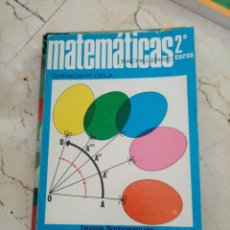 Libros: MATEMÁTICAS 2 BACHILLERATO ITER EDICIONES. Lote 214256772