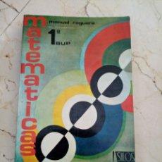 Libros: MATEMÁTICAS 1 BUP SILOS. Lote 214257045