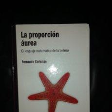 Libros: LA PROPORCIÓN ÁUREA. Lote 215065402