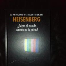 Libros: EL PRINCIPIO DE INCERTIDUMBRE, HEISENBERG. Lote 215066207
