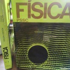 Libros: FISICA-PSSC-2 TOMOS COMPLETO-3 EDICION,HABER-SCHAIM,CROSS, DODGE,EDITA REVERTE,. Lote 217221155