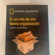 Libros: MUNDO MATEMÁTICO NATIONAL GEOGRAPHIC - LOGÍSTICA Y MATEMÁTICAS - EL SECRETO DE UNA BUENA ORGANIZACIO. Lote 221749426