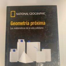 Libros: MUNDO MATEMÁTICO NATIONAL GEOGRAPHIC - GEOMETRÍA PRÓXIMA. Lote 221750610