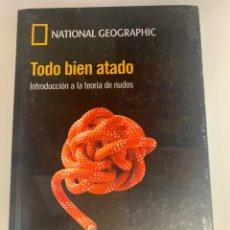 Libros: MUNDO MATEMÁTICO NATIONAL GEOGRAPHIC - TEORÍA DE NUDOS. Lote 221750815