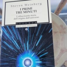 Libros: I PRIMI TRE MINUTI EN ITALIANO POR STEVEN WEINBERG. Lote 225541880