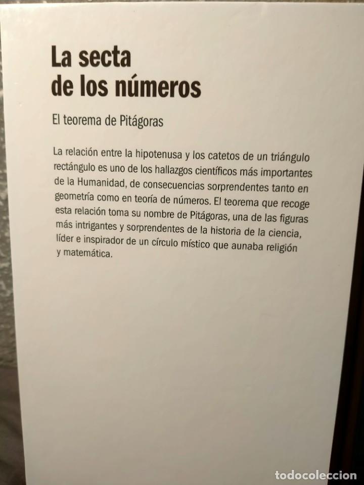 Libros: LA SECTA DE LOS NÚMEROS - EL TEOREMA DE PITÁGORAS - EL MUNDO ES MATEMÁTICAS RBA - ALSINA - Foto 2 - 226356120