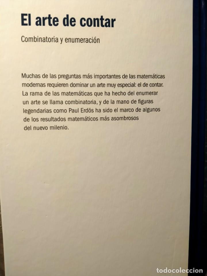 Libros: EL ARTE DE CONTAR - COMBINATORIA Y ENUMERACIÓN - EL MUNDO ES MATEMÁTICAS - NUEVO - Foto 2 - 226357470