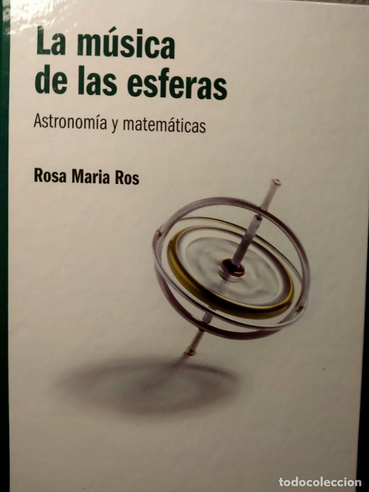 LA MÚSICA DE LAS ESFERAS - ASTRONOMÍA Y MATEMÁTICAS - NUEVO (Libros Nuevos - Ciencias, Manuales y Oficios - Física, Química y Matemáticas)