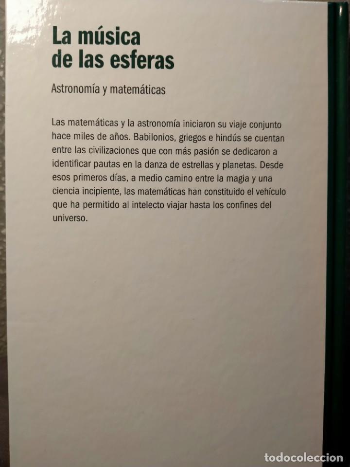Libros: LA MÚSICA DE LAS ESFERAS - ASTRONOMÍA Y MATEMÁTICAS - NUEVO - Foto 2 - 226358105
