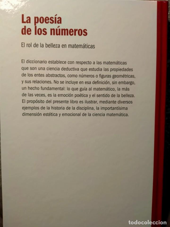 Libros: LA POESÍA DE LOS NÚMEROS - EL ROL DE LA BELLEZA EN MATEMÁTICAS - NUEVO - Foto 2 - 226358320