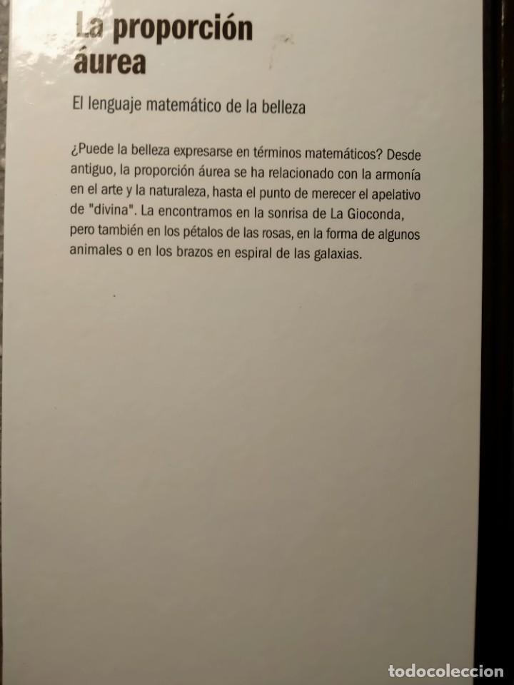 Libros: LA PROPORCIÓN AUREA - EL LENGUAJE MATEMÁTICO DE LA BELLEZA - NUEVO - Foto 2 - 226358580