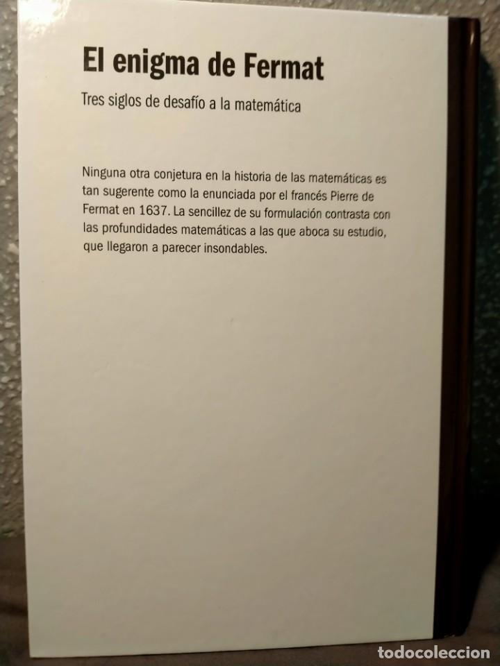 Libros: EL ENIGMA DE FERMAT - TRES SIGLOS DEL DESAFÍO A LAS MATEMÁTICAS - NUEVO - Foto 2 - 226358753