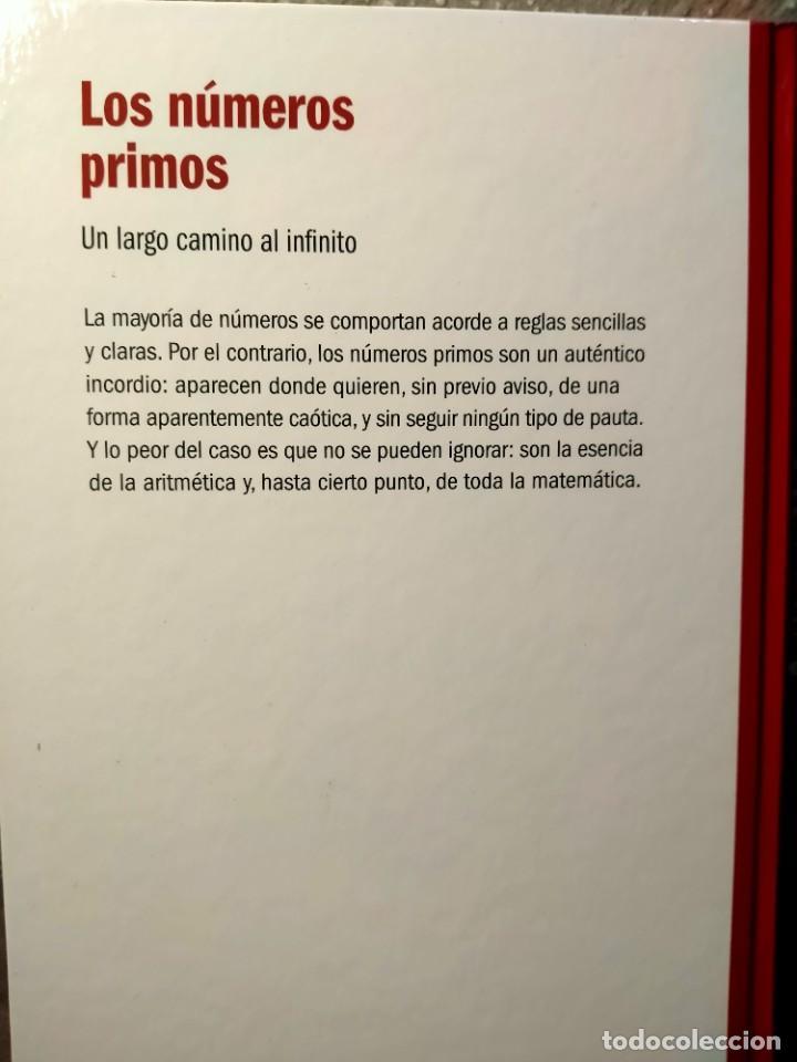 Libros: LOS NÚMEROS PRIMOS - UN LARGO CAMINO AL INFINITO - NUEVO - Foto 2 - 226359955