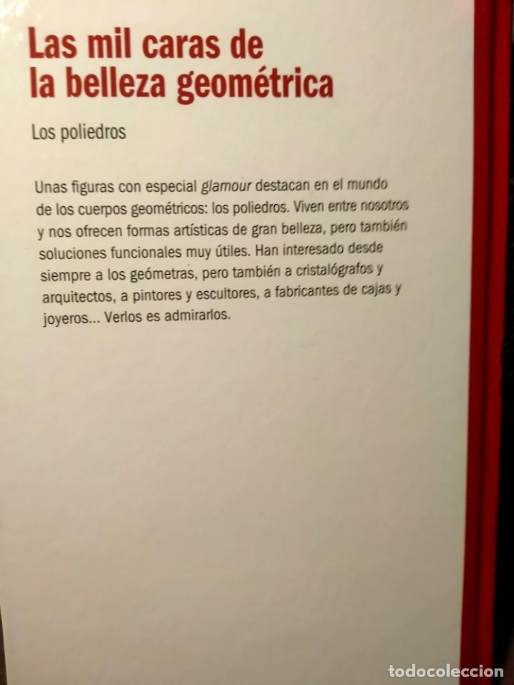 Libros: LAS MIL CARAS DE LA BELLEZA GEOMÉTRICA - LOS POLIEDROS - NUEVO - Foto 2 - 226360262