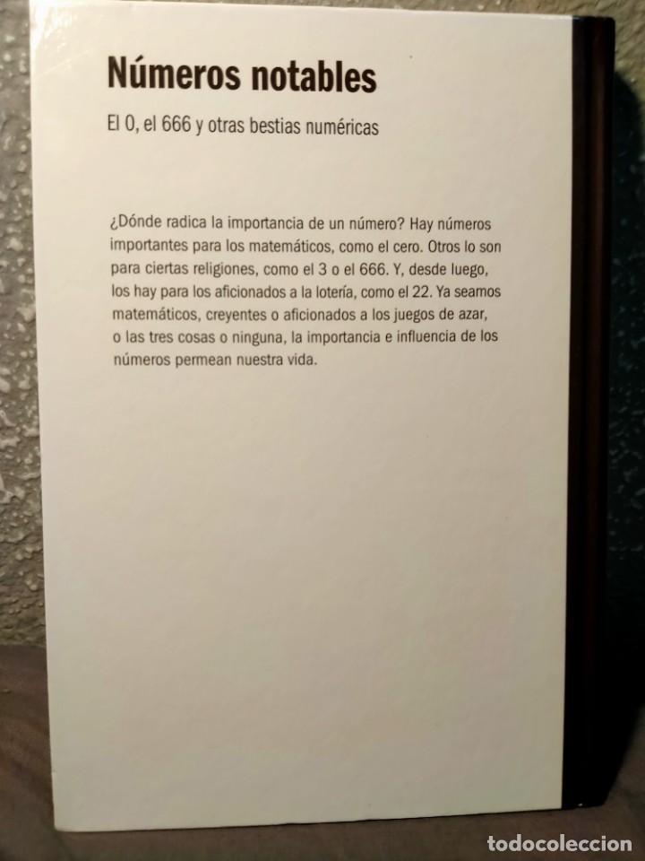 Libros: LOS NÚMEROS NOTABLES - DEL 0 AL 666 Y OTRAS BESTIAS NUMÉRICAS - NUEVO - Foto 2 - 226361715