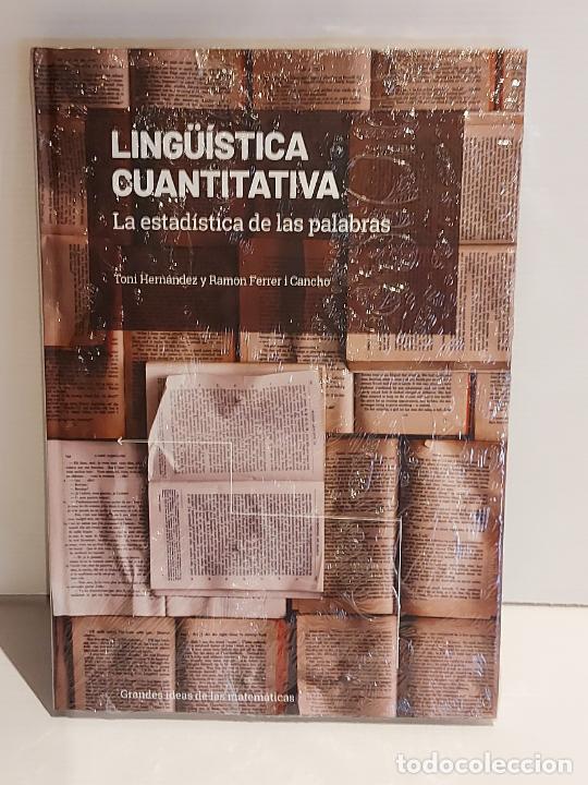 GRANDES IDEAS DE LAS MATEMÁTICAS / 30 / LINGÜÍSTICA CUANTITATIVA / PRECINTADO A ESTRENAR. (Libros Nuevos - Ciencias, Manuales y Oficios - Física, Química y Matemáticas)