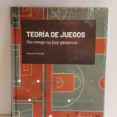 Libros: GRANDES IDEAS DE LAS MATEMÁTICAS / 29 / TEORÍA DE JUEGOS / PRECINTADO A ESTRENAR.. Lote 226985605