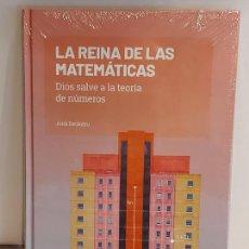 Libros: GRANDES IDEAS DE LAS MATEMÁTICAS / 20 / LA REINA DE LAS MATEMÁTICAS / PRECINTADO A ESTRENAR.. Lote 236776815