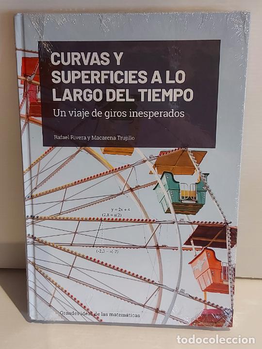 GRANDES IDEAS DE LAS MATEMÁTICAS / 16 / CURVAS Y SUPERFICIES ... / PRECINTADO A ESTRENAR. (Libros Nuevos - Ciencias, Manuales y Oficios - Física, Química y Matemáticas)