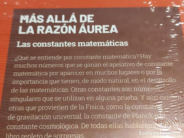 Libros: GRANDES IDEAS DE LAS MATEMÁTICAS / 9 / MÁS ALLÁ DE LA RAZÓN ÁUREA / PRECINTADO A ESTRENAR. - Foto 2 - 236776630