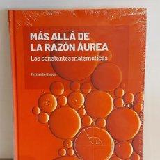 Libros: GRANDES IDEAS DE LAS MATEMÁTICAS / 9 / MÁS ALLÁ DE LA RAZÓN ÁUREA / PRECINTADO A ESTRENAR.. Lote 226989895