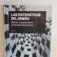 Libros: GRANDES IDEAS DE LAS MATEMÁTICAS / 36 / LAS MATEMÁTICAS DEL DINERO / PRECINTADO A ESTRENAR.. Lote 226990165