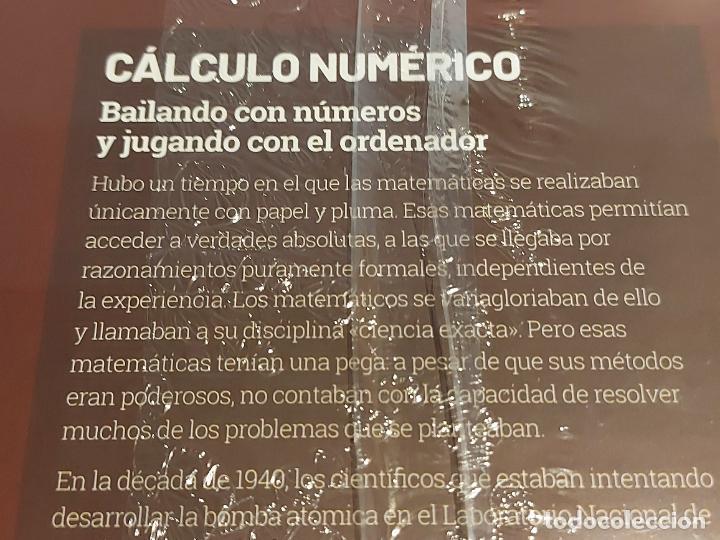Libros: GRANDES IDEAS DE LAS MATEMÁTICAS / 35 / CÁLCULO NUMÉRICO / PRECINTADO A ESTRENAR. - Foto 2 - 226990410