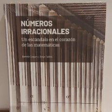 Livros: GRANDES IDEAS DE LAS MATEMÁTICAS / 3 / NÚMEROS IRRACIONALES / PRECINTADO A ESTRENAR.. Lote 228326563