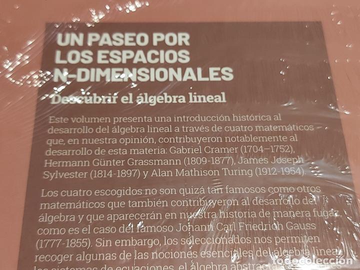 Libros: GRANDES IDEAS DE LAS MATEMÁTICAS / 7 / UN PASEO POR LOS ESPACIOS... / PRECINTADO A ESTRENAR. - Foto 2 - 228328310