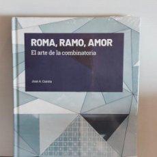 Livros: GRANDES IDEAS DE LAS MATEMÁTICAS / 14 / ROMA, RAMO, AMOR / PRECINTADO A ESTRENAR.. Lote 228486850
