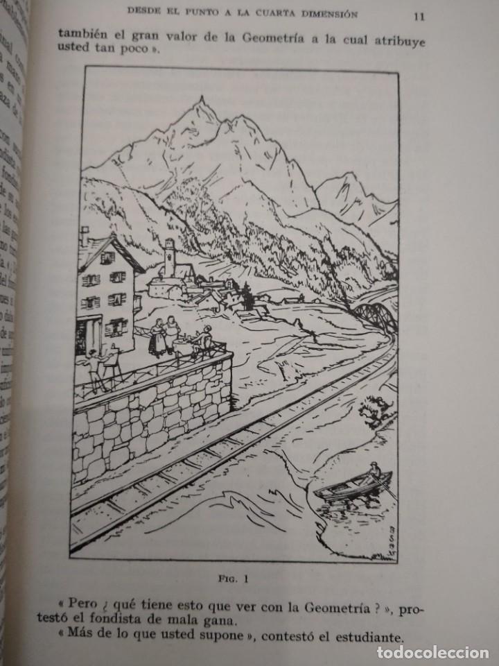 Libros: DESDE EL PUNTO A LA CUARTA DIMENSION -EGMONT COLERUS - ED LABOR - 1948 - UNA GEOMETRIA PARA TODOS - Foto 3 - 230784920