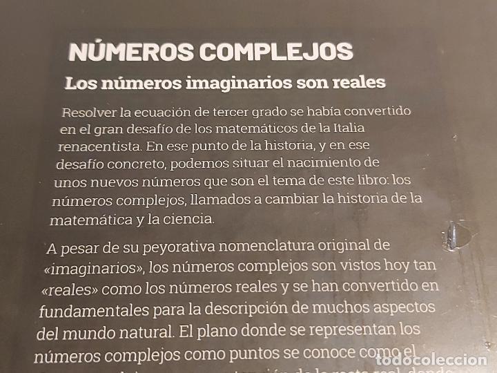 Libros: GRANDES IDEAS DE LAS MATEMÁTICAS / 11 / NÚMEROS COMPLEJOS / PRECINTADO A ESTRENAR. - Foto 2 - 251546210