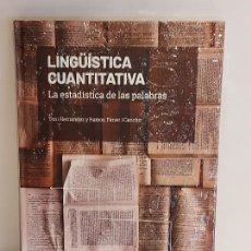 Libros: GRANDES IDEAS DE LAS MATEMÁTICAS / 30 / LINGÜÍSTICA CUANTITATIVA / PRECINTADO A ESTRENAR.. Lote 235480680