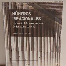 Libros: GRANDES IDEAS DE LAS MATEMÁTICAS / 3 / NÚMEROS IRRACIONALES / PRECINTADO A ESTRENAR.. Lote 235481835