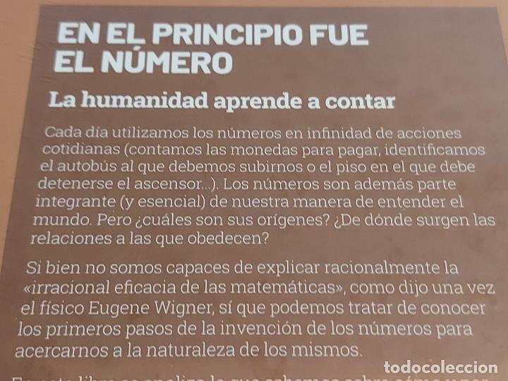 Libros: GRANDES IDEAS DE LAS MATEMÁTICAS / 1 / EN EL PRINCIPIO FUE EL NÚMERO / PRECINTADO A ESTRENAR. - Foto 2 - 235482605